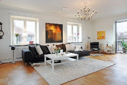 Renewed Two-Flat Edwardian House Exposing a Vintage Scandinavian ...