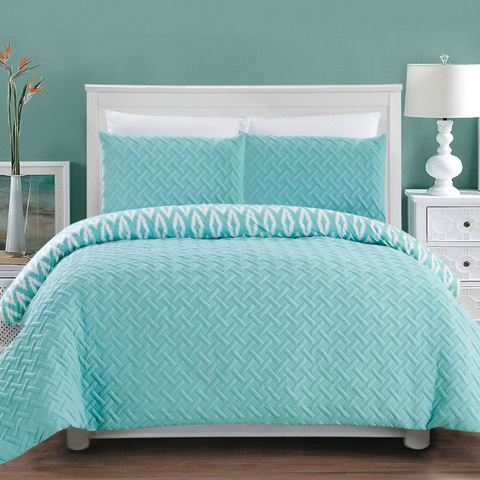 3 Piece Sabina Comforter Set By Chic Home Comforter Sets Bed