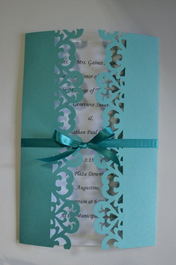 Handmade Wedding Shower Event Invitations any color by silversshop ...