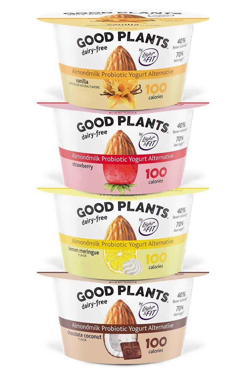 Good Plants Dairy Free Almondmilk Yogurt Alternative Review Info Yogurt Packaging Sugar Free Yogurt Yogurt Brands