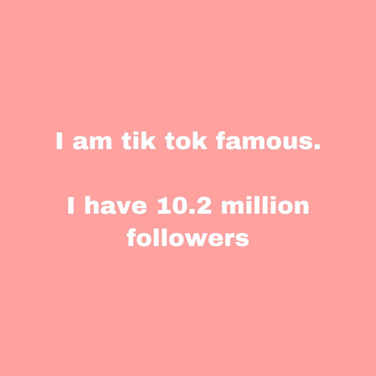 Tik Tok Famous Affirmation Positive Self Affirmations Affirmations Famous