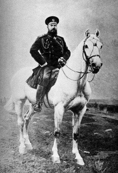 Tsar Alexander lll of Russia, father of Tsar Nicolas II and husband of Empress Maria Feodorovna.