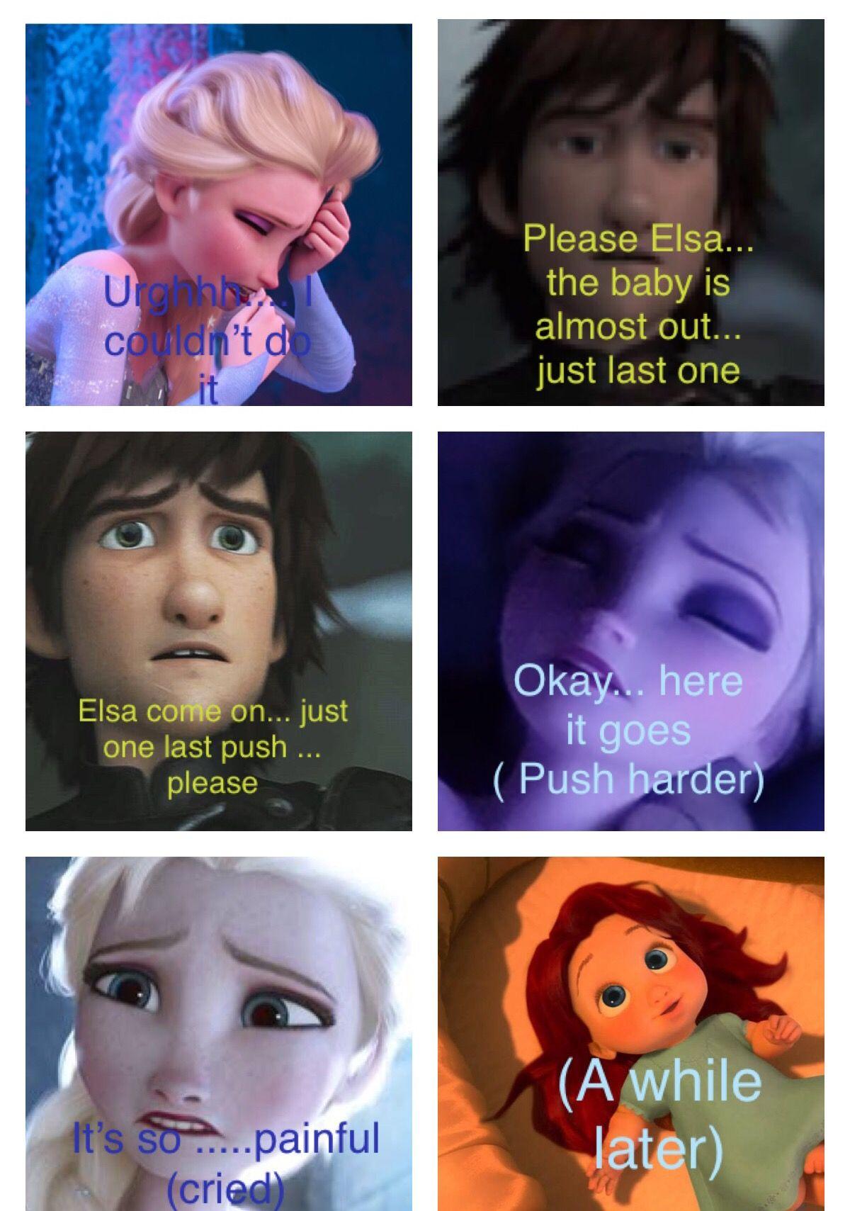 #Hiccelsa #Comics #Pregnant #Elsa #Hiccup #Parents