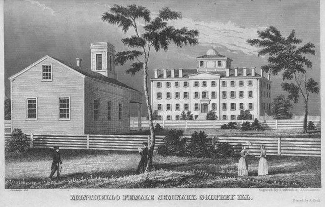 Madison County ILGenWeb - Monticello Ladies Seminary, Godfrey, Madison County, Illinois
