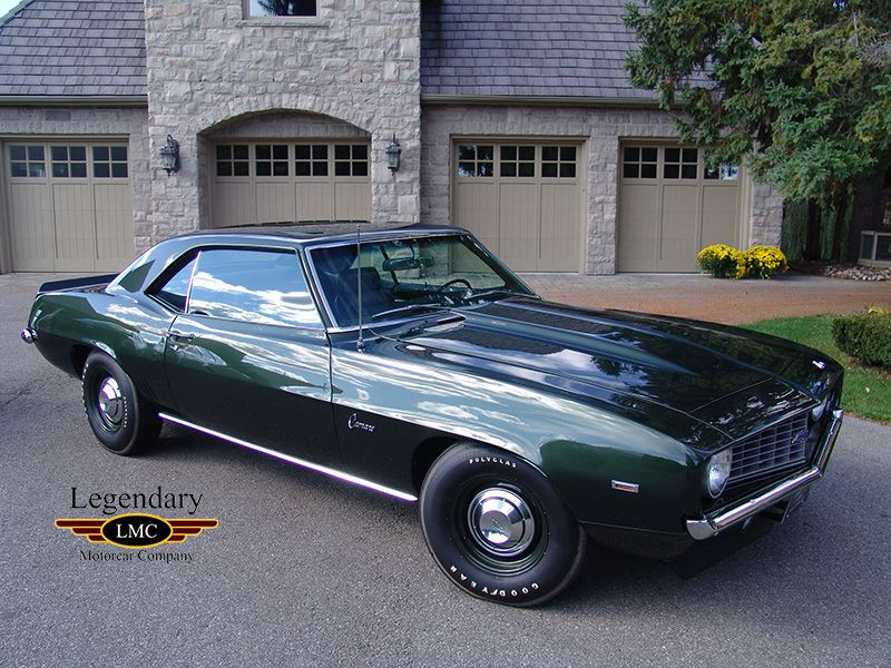 1969 Chevrolet Camaro ZL1 For Sale - The Ultimate Factory Camaro ...