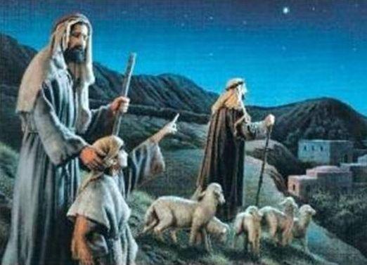 Christmas Shepherds.Shepherds Sowing The Seeds The Christmas Shepherds Xmas