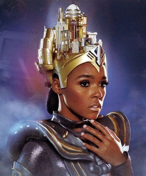 Janelle Monae Give Good Face Black Women Art African