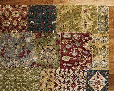 die besten 25 patchwork teppiche ideen auf pinterest denim teppich turquoise color und. Black Bedroom Furniture Sets. Home Design Ideas