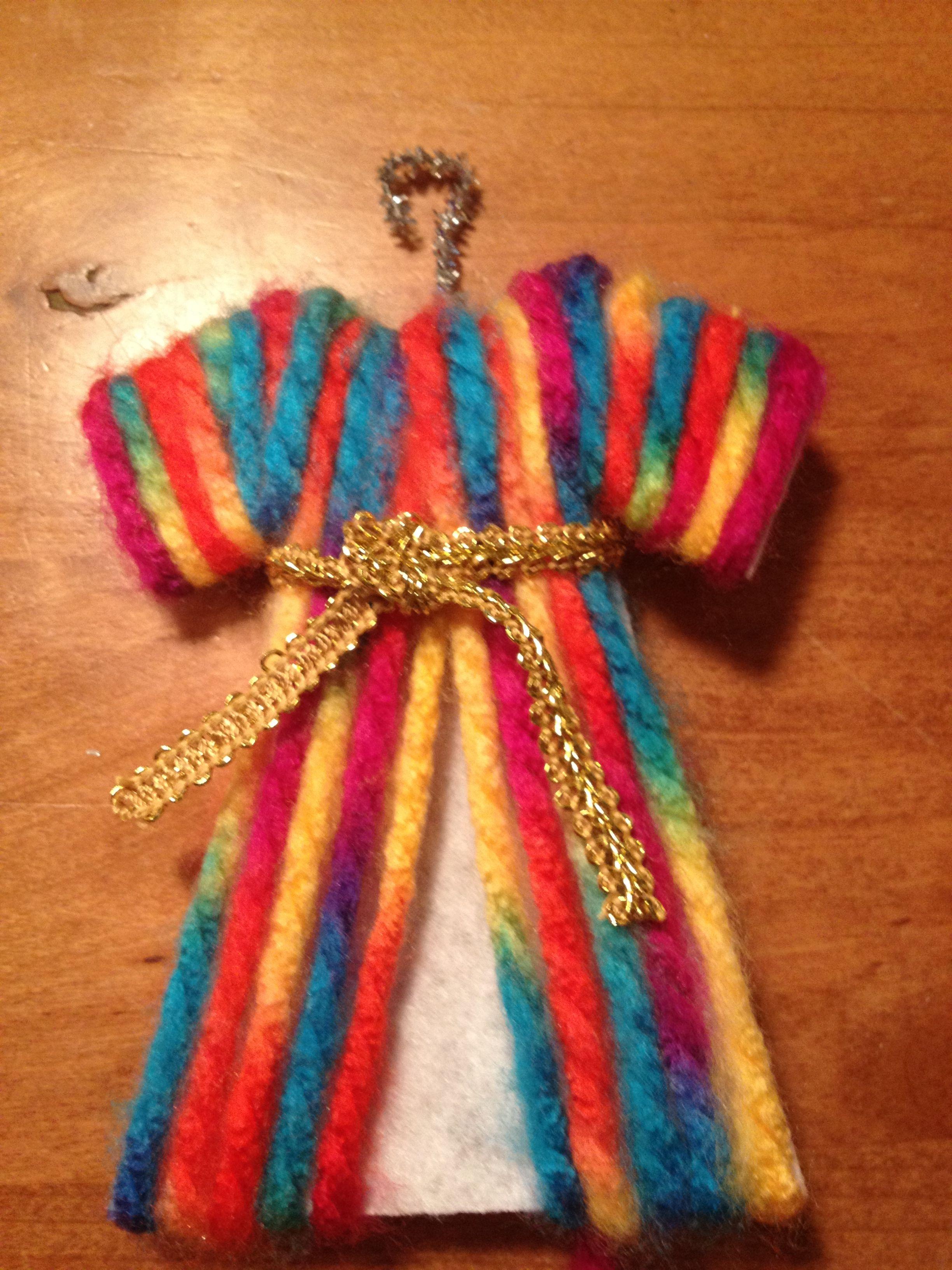 jesse tree - joseph's dreamcoat | advent | Joseph crafts ...
