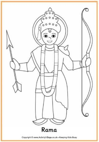 Diwali Colouring Pages Diwali Story Diwali Drawing Coloring Pages