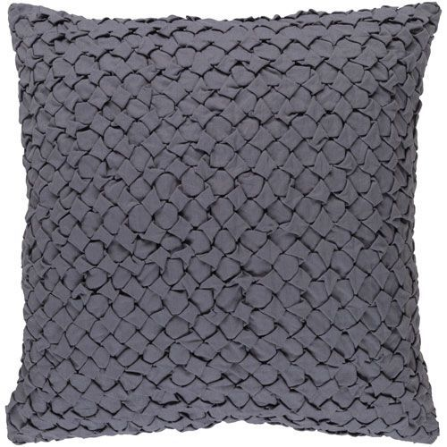 Ashlar Gray 40Inch Pillow With Down Fill Pillows Throw Pillows Interesting Fairon Decorative Throw Pillow