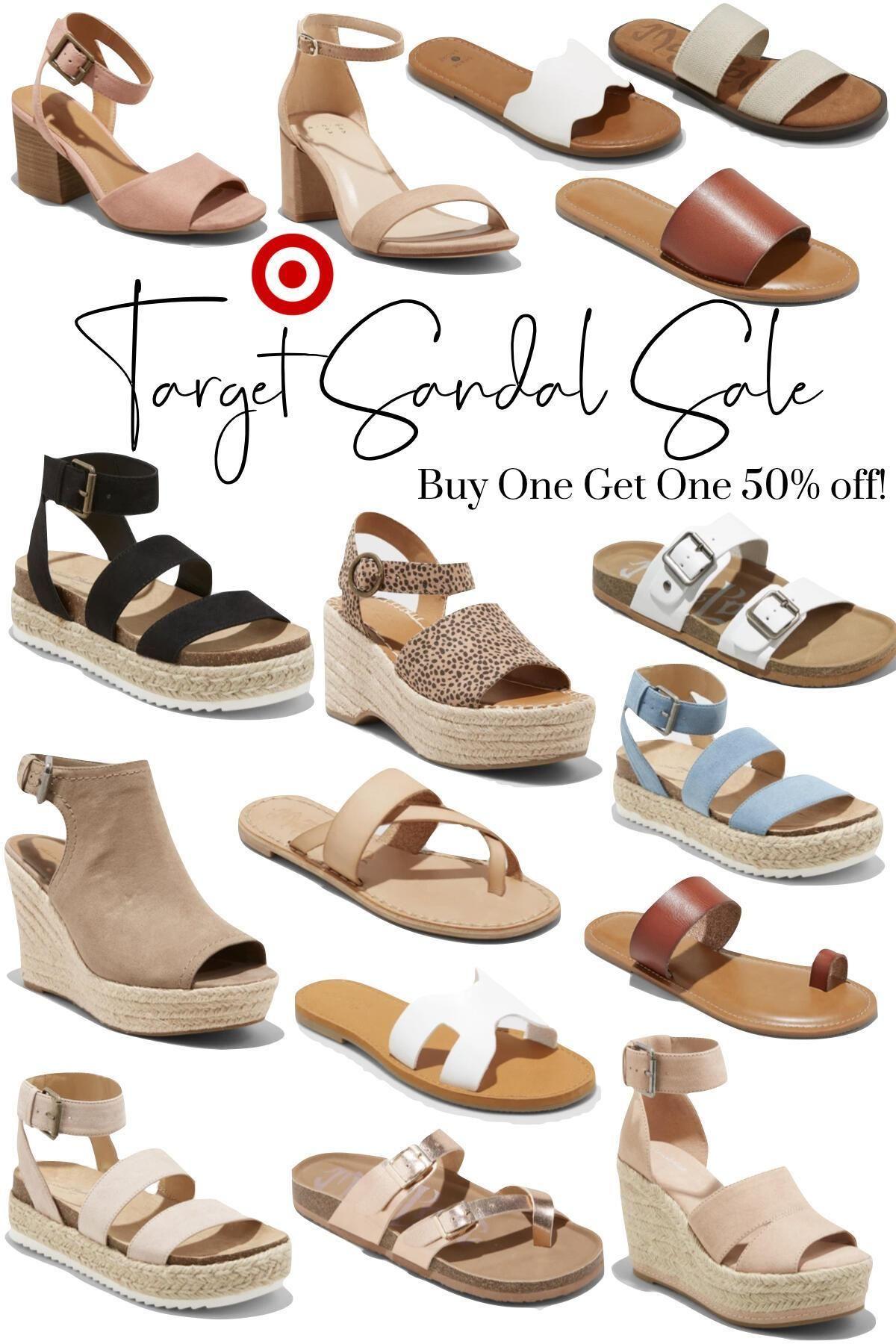 Target Sandal Sale // BOGO 50% Off - An