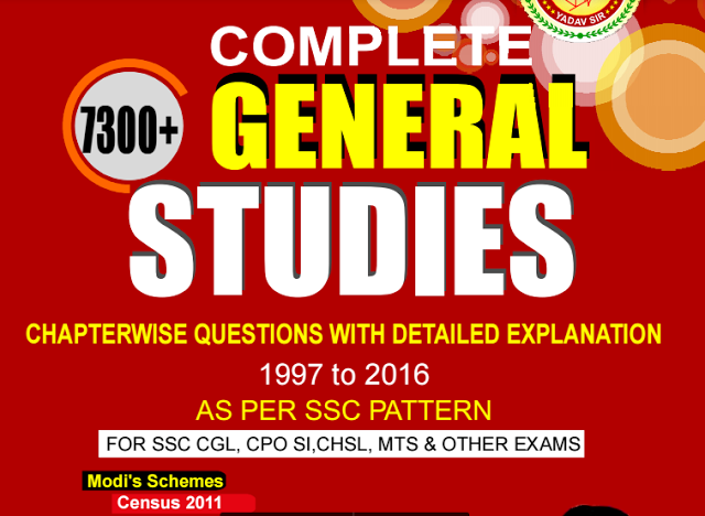 Rakesh Yadav 7300 Complete General Studies Chapterwise in