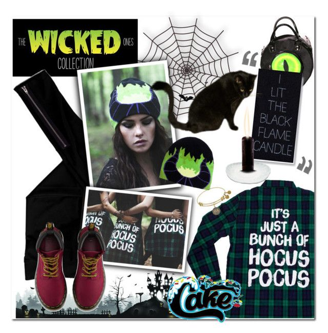 """Cake x DB: The Wicked Ones contest entry"" by maria-maldonado ❤ liked on Polyvore featuring Kreepsville 666, LnA, contestentry and wickeddisneybound"