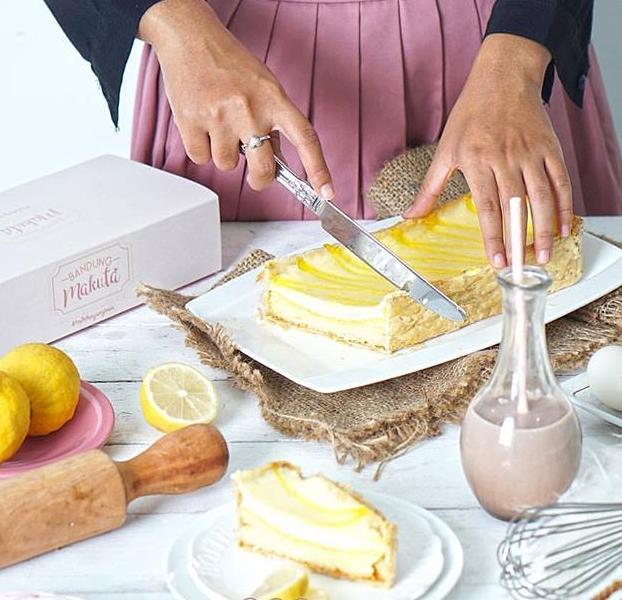 Resep Membuat Bandung Makuta Cake Lemon Makanan Kue Kue Kering
