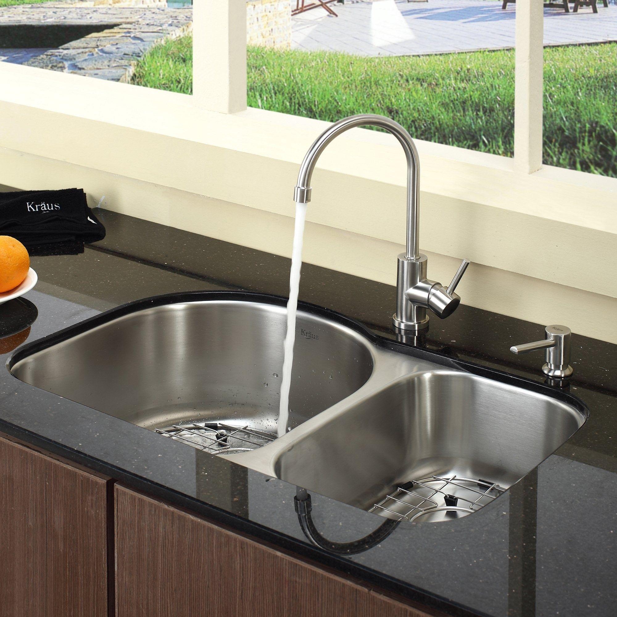 Modern Undermount Stainless Steel Sinks For Best Kitchen Sink Idea Double Bowl Underm Best Kitchen Sinks Stainless Steel Kitchen Sink Undermount Cool Kitchens Undermount stainless steel kitchen sink