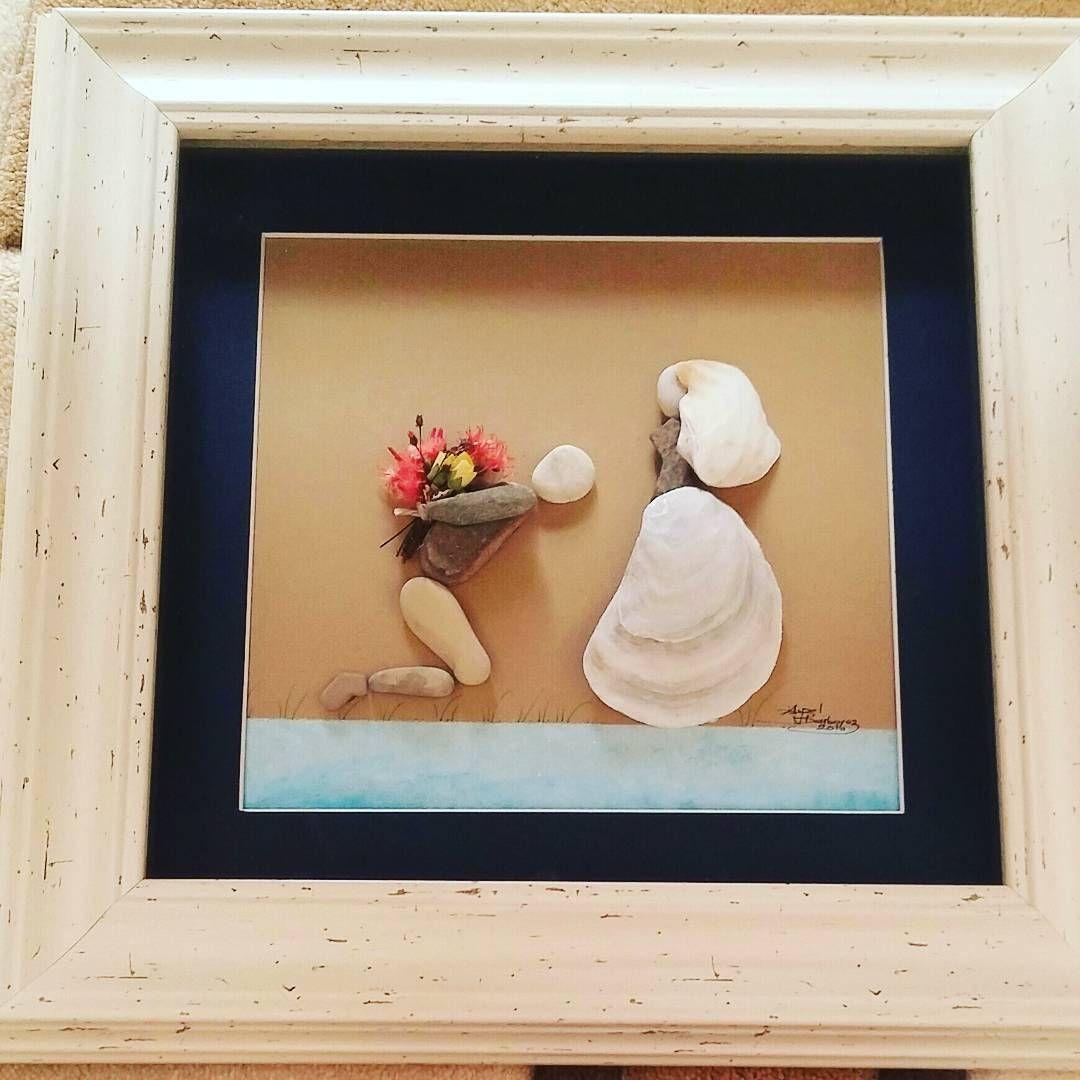 """Pebble Artist 💍 on Instagram: """"#taylanby #creative #handmade #unique #hediye #designshop #tasarim #tablo #ev #evdekor #kuzguncuk #ankara #dans #evdekorasyon #evlilik…"""""""