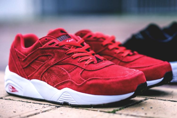 129807061623 - puma r698 allover suede red via  bb42384eb7f4
