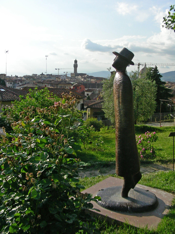 Folon L Envol Giardino Delle Rose Firenze Italia Florenca