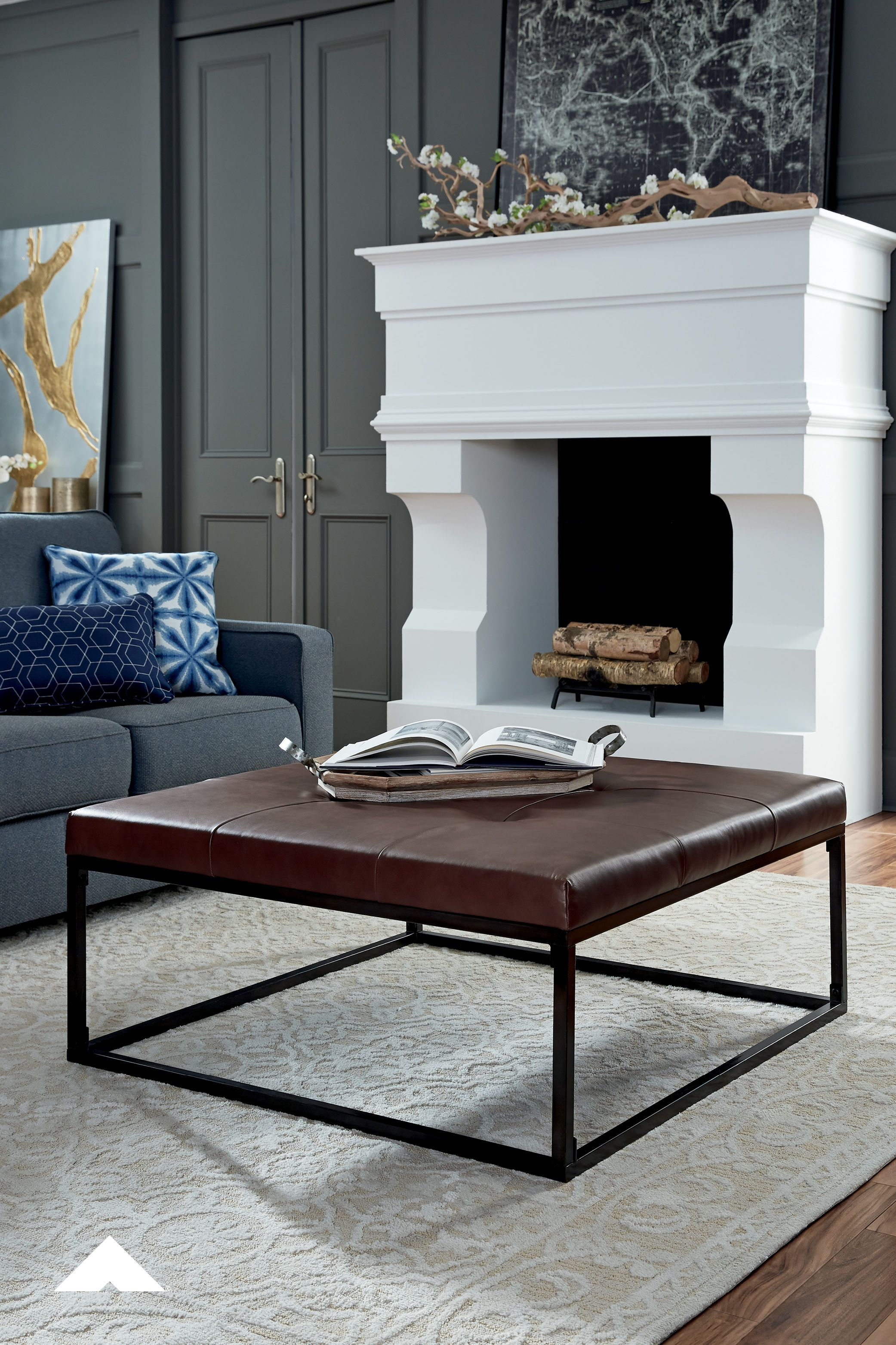 Boyden Brown Oversized Accent Ottoman By Ashley Furniture
