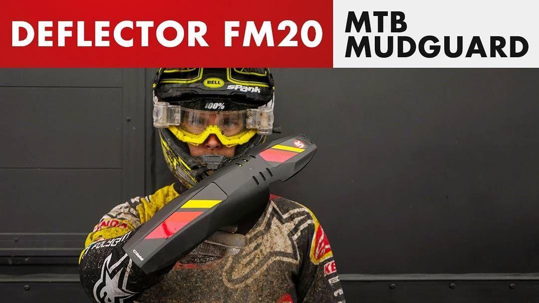 MTB Front Mudguard Black Zefal Deflector FM20