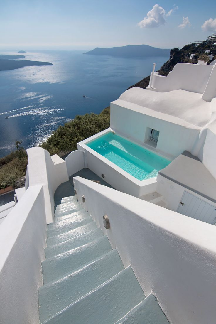 Villa Gaia Santorini Accommodation #traveltogreece
