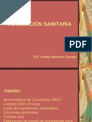 Nomenclatura de aceites pdf