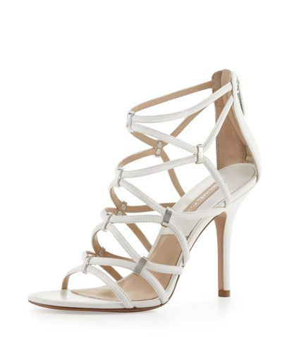 MICHAEL KORS Charlene Strappy Sandal. #michaelkors #shoes