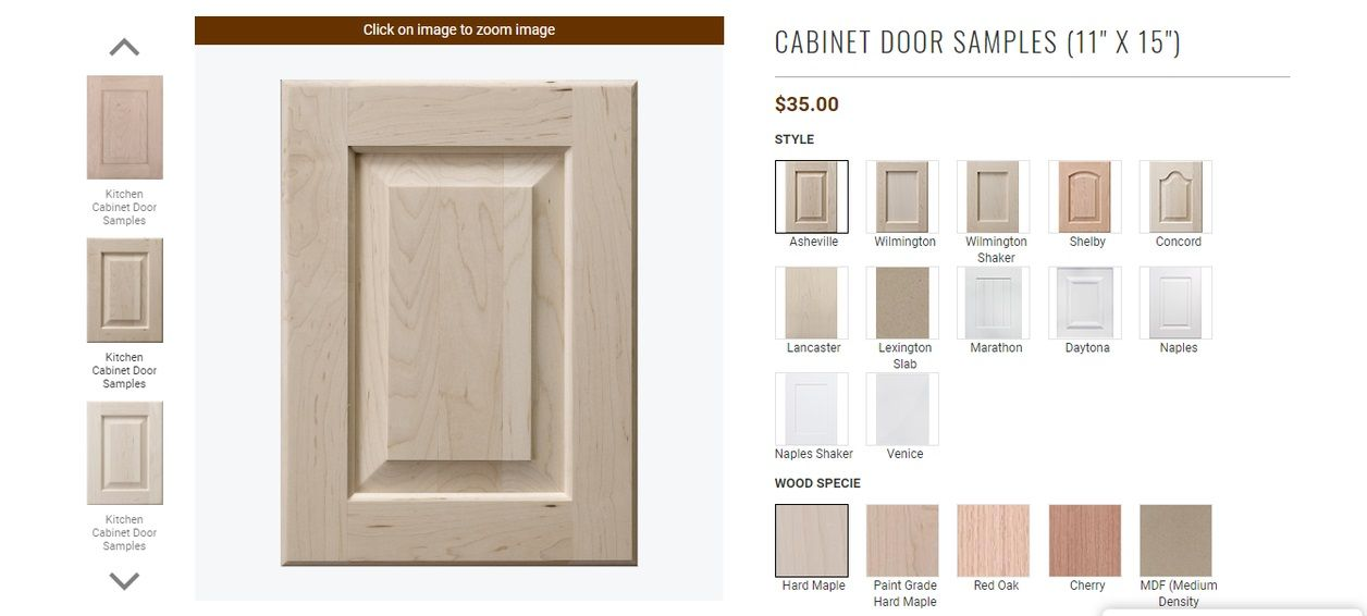 Kitchen And Bath Cabinet Door Samples Cabinet Doors Refacing
