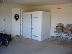 Family safe shelters storm shelter garage install for Garage safe room