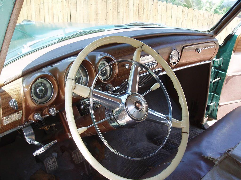 1953 Desoto Powermaster Station Wagon Dash Chrysler Corporation Plymouth Savoy Cars Old Trucks Mopar