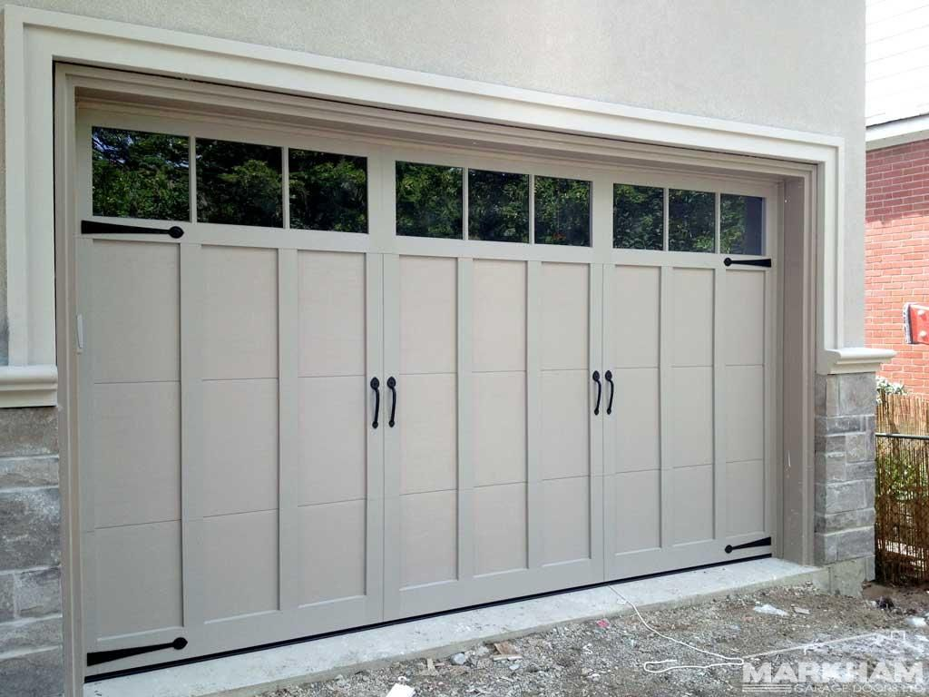 Haas Door American Traditions 922 With 3 Pane Windows 2 Doors Garage Doors For Sale Garage Door Installation