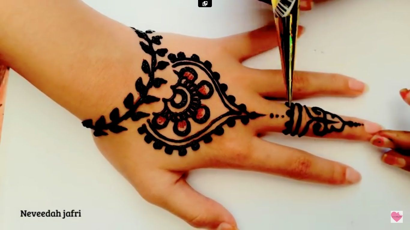 Desenhos Mehndi Significado : ᴴᴰ best beautiful elegant henna mehndi simple designs arianne