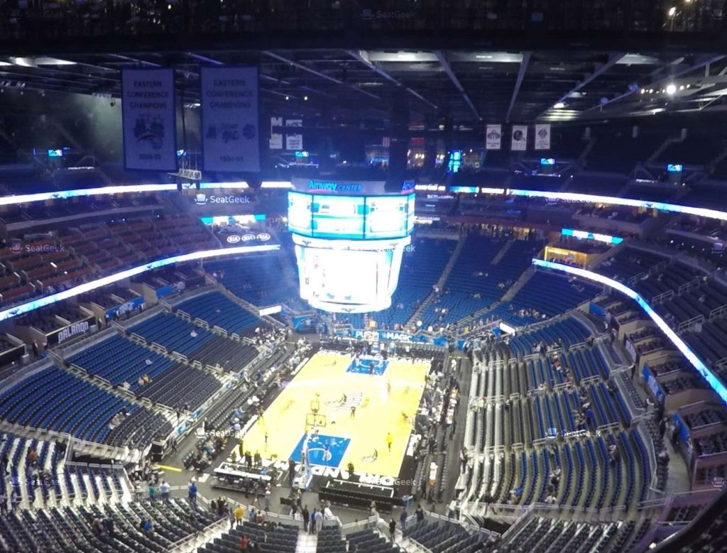 The Amazing And Interesting Amway Arena Amway Arena Amway Center Seating Charts