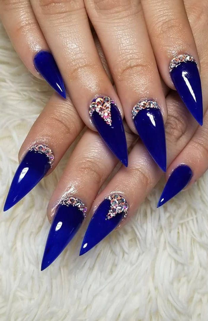 35 Fearless And Awesome Stiletto Nail Art Designs Images For 2019