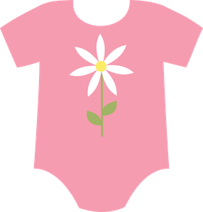 baby girl onesie clip art clip art clothes clipart pinterest rh pinterest ph onesie clipart black and white onesie clipart pink