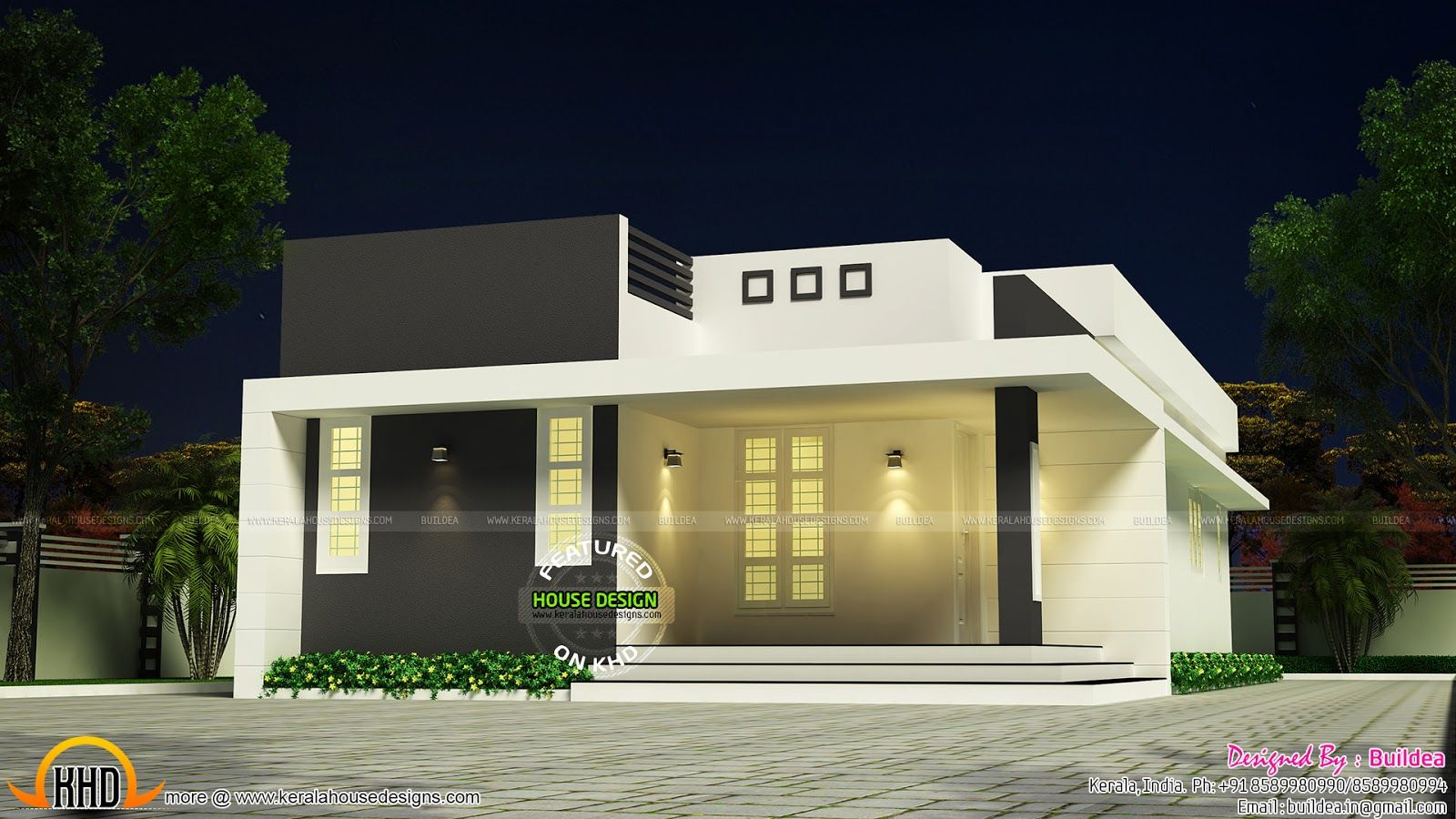 Simple And Beautiful Low Budget House House Elevation