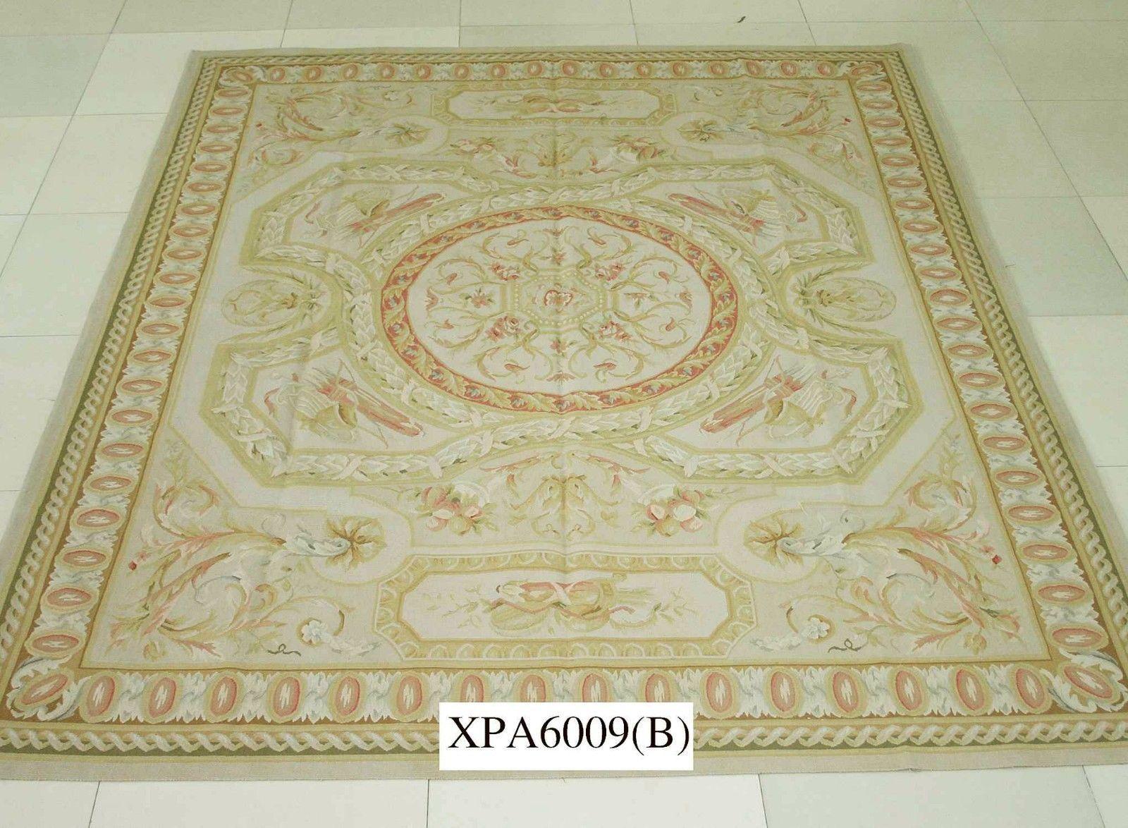 11 9 X18 4 So Stunning Handmade Living Room Decor Huge French Aubusson Wool Rug