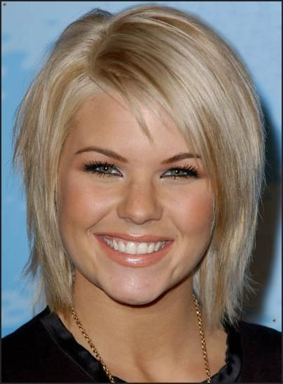Short hairstyles for round faces | short hair | Pinterest | Short ...