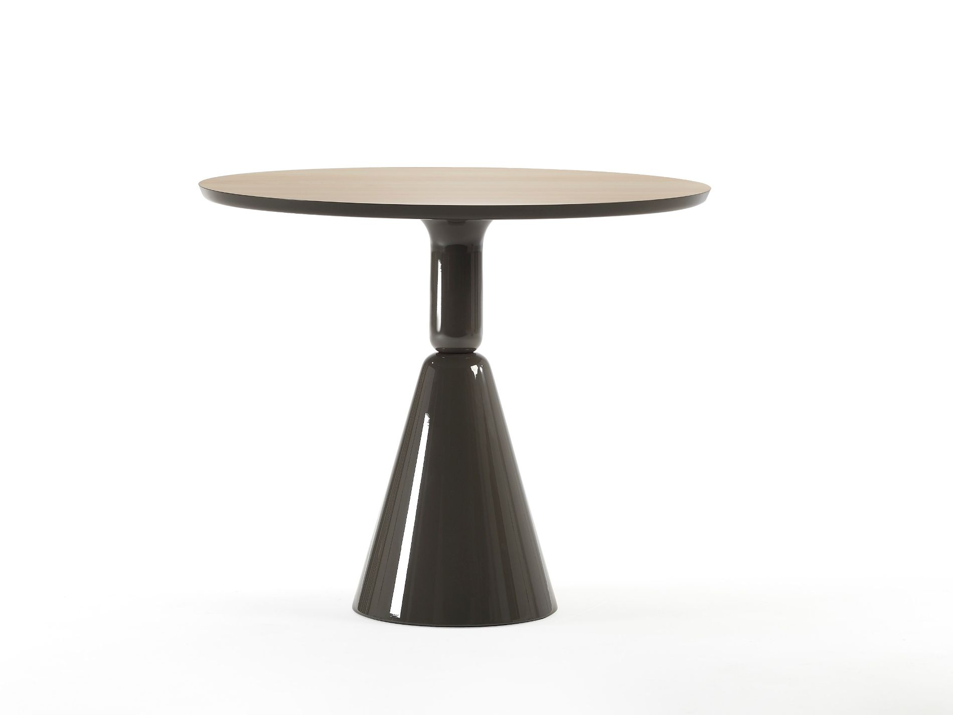 At The Table Or On The Table Pion Round Table Pion Collection By Sancal Furniture Dining Table Round Table Decor Side Table