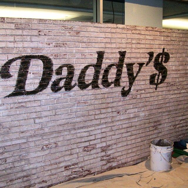 finished faux brick w/hand painted design-antiqued___google__Ink361/raulsfauxfinishing (photos)