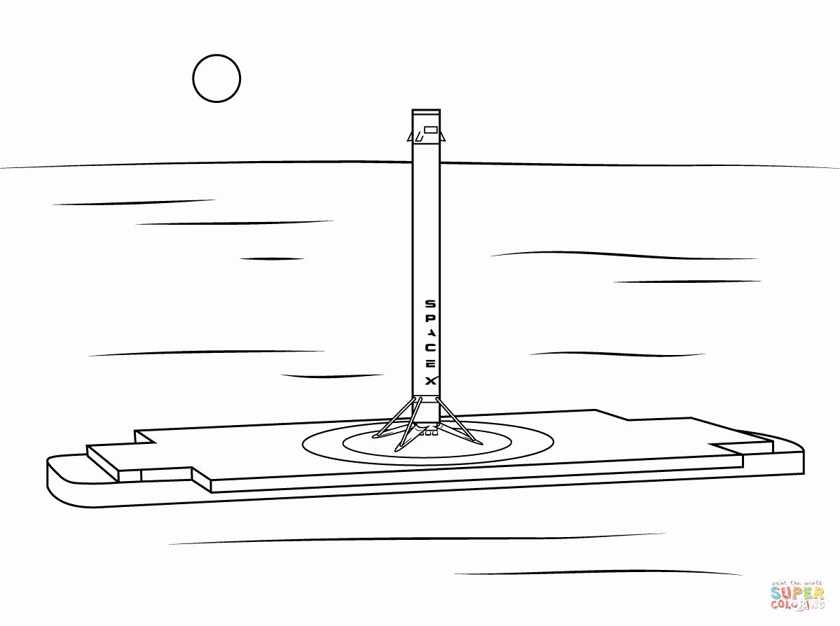 Spacex Coloring Page Lovely Rocket Coloring Page Space Coloring Pages Coloring Pages Color
