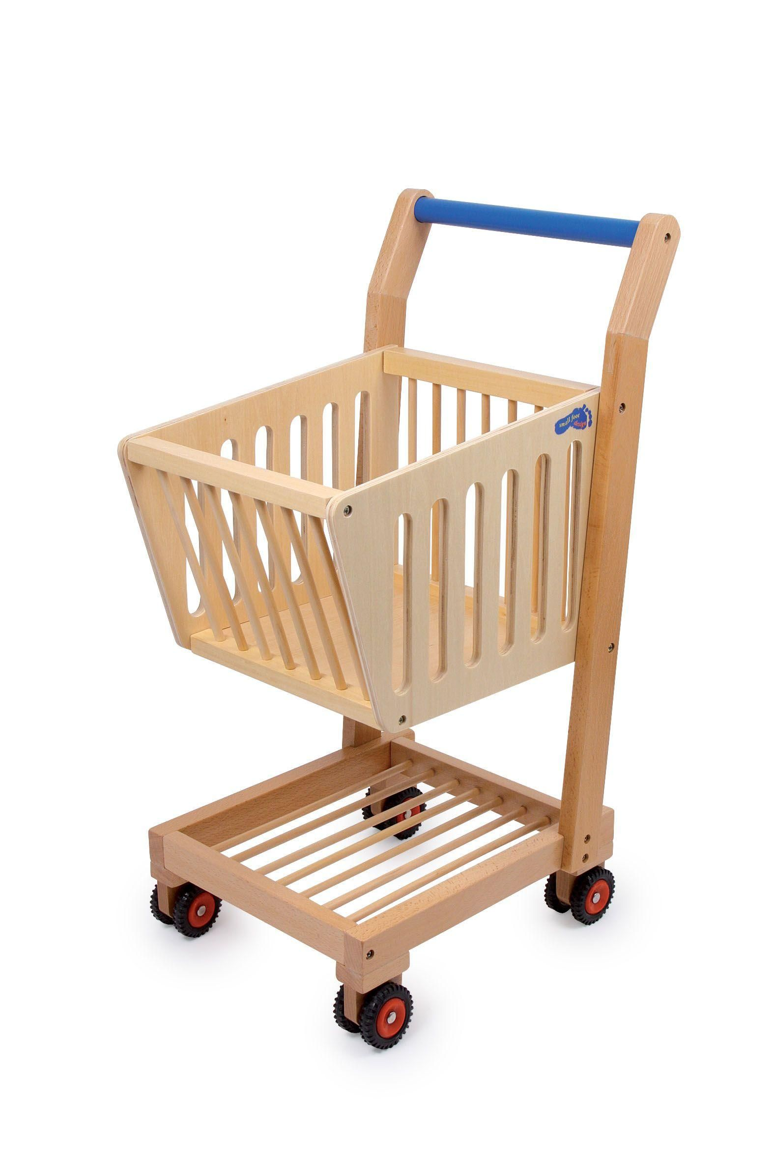 La tua bambina far la spesa con il suo carrello speciale in