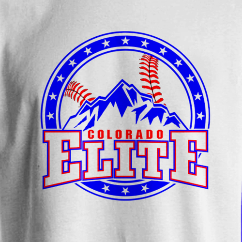 Be The Next Creator Designer For Nationally Ranked Youth Baseball Team Colorado Elite Is A Competitive Youth Ba Clothes Design Template Design Youth Baseball