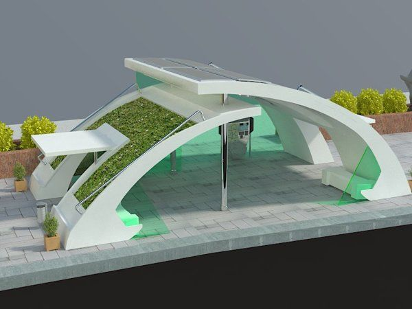 Bus stop project googleda ara