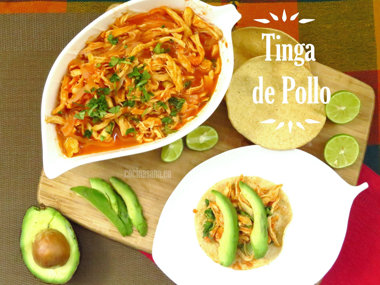 Tinga de Pollo la autntica receta Mexicana  Comida
