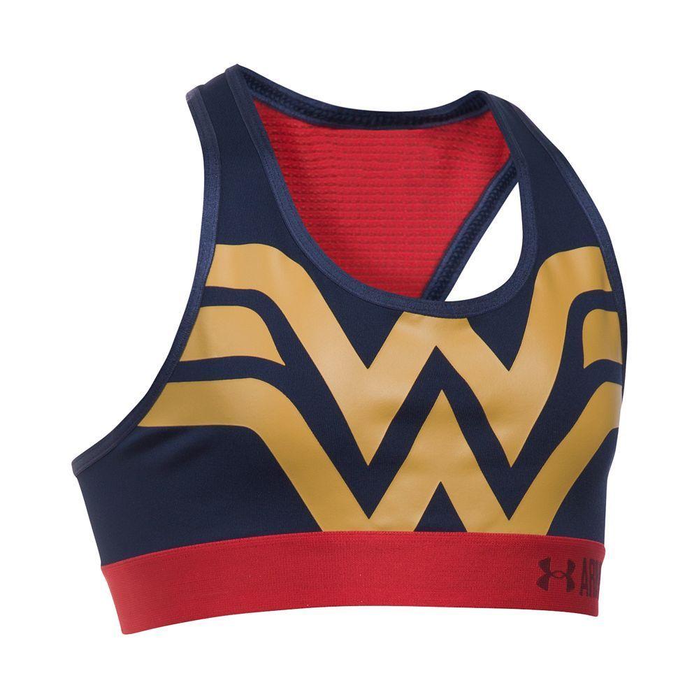 Girls 716 DC Comics Wonder Woman Sports Bra by Under