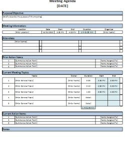 Agenda Sample Format Mesmerizing Meeting Agenda Template  Document Templates  Pinterest  Template