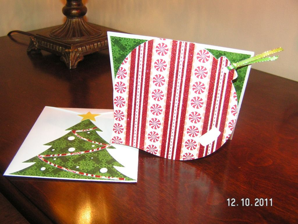 Ornament Card and Envelope - Wild Card Cartridge