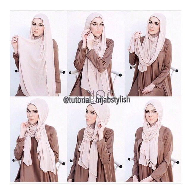 Summer Easy Hijab Weap Tutorial Hijab Fashion Inspiration Stylish Hijab Hijab Fashion Hijab Style Tutorial